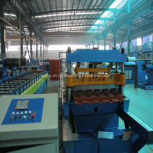 Glazed Steel Tile Production Roll Forming Machine line